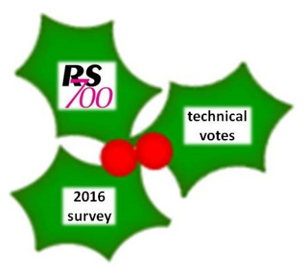 More information on Vote on Technical Rules Changes, 2016 Survey, 2017 Calendar and Seasons Greetings!