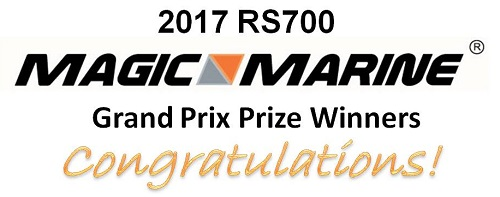 More information on Robbie Bell is winner of 2017 RS700 Magic Marine Grand Prix!