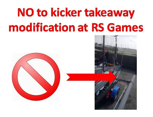 More information on Kicker takeaway mod not to be used at RS Games!
