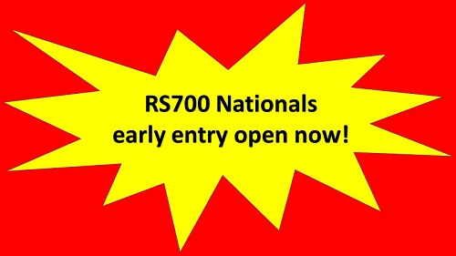 More information on RS700 Nationals early entry open now!