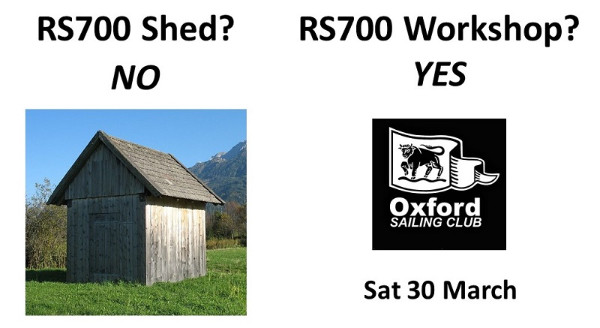 More information on RS700 Workshop – new event Sat 30 March at Oxford SC