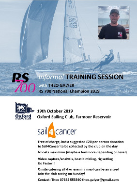 More information on NEW = RS700 Informal Training at Oxford 19 Oct