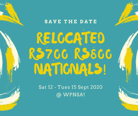 More information on Nationals NOR Here Now!  And grab your lead – racing under RS700 Rules not Trial