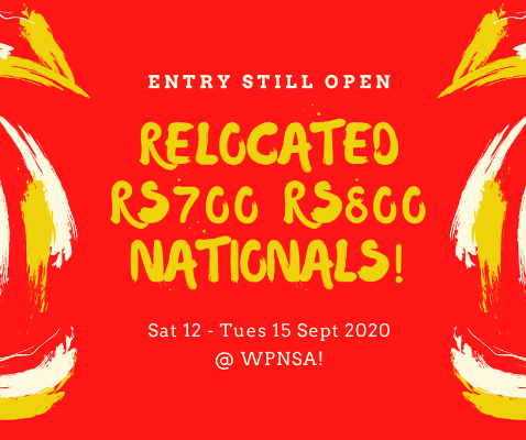 More information on RS700s all go for their nationals!  Entry is still open!